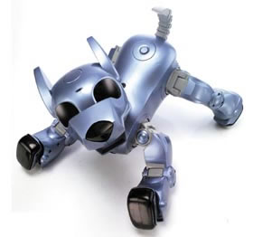 robot pets versus real pets for It's not a computer or a video game—it's a robot shaped like a small dog  what  aspects of the bond between a human and a robot pet (or a real one) cannot be.